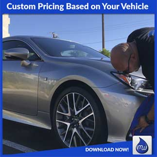 custom pricing based on your vehicle v
