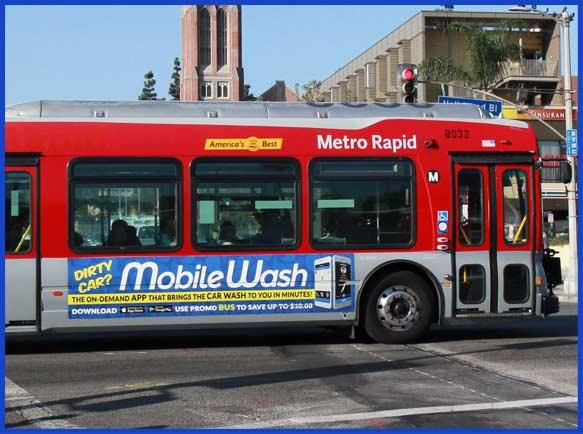 mobilewash bus bannner