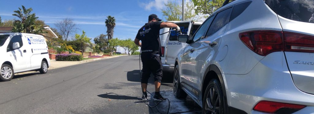 best car wash in Santa Ana | Mobile Wash