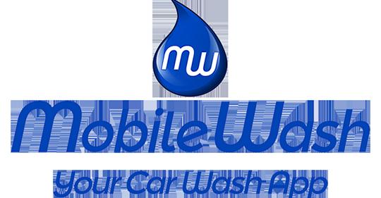 MobileWash Company Logo Blue