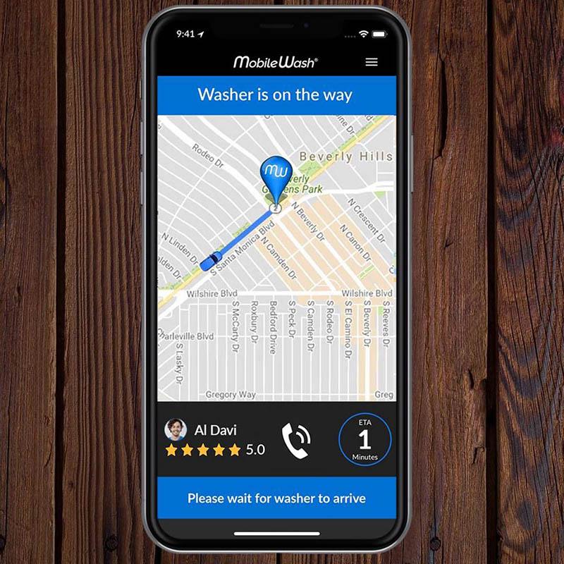 Mobile car wash app   Mobile Wash